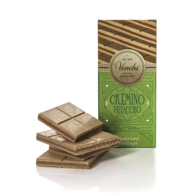 Venchi čokoláda Cremino Pistachio 110g