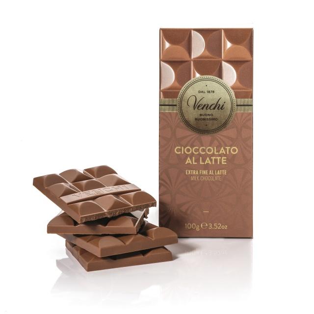Venchi mléčná čokoláda 100g